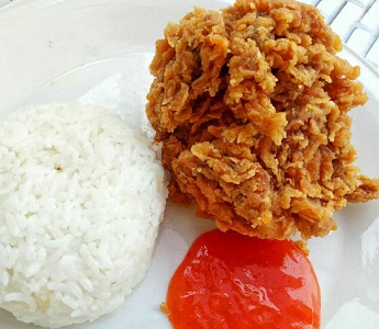Cara bikin fried chicken