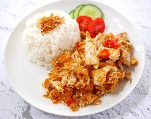 wong sugih kuliner ayam geprek