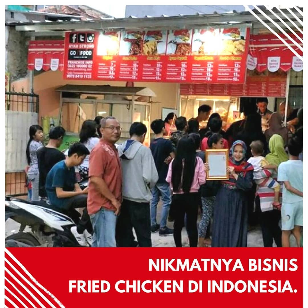 usaha waralaba 2019 ayam fried chicken ayam strong indonesia