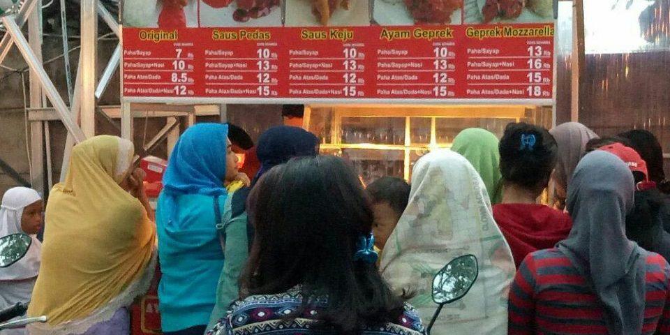 waralaba fried chicken terbaik