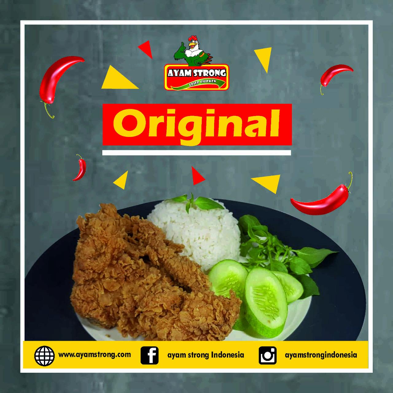 Ayam-strong-original
