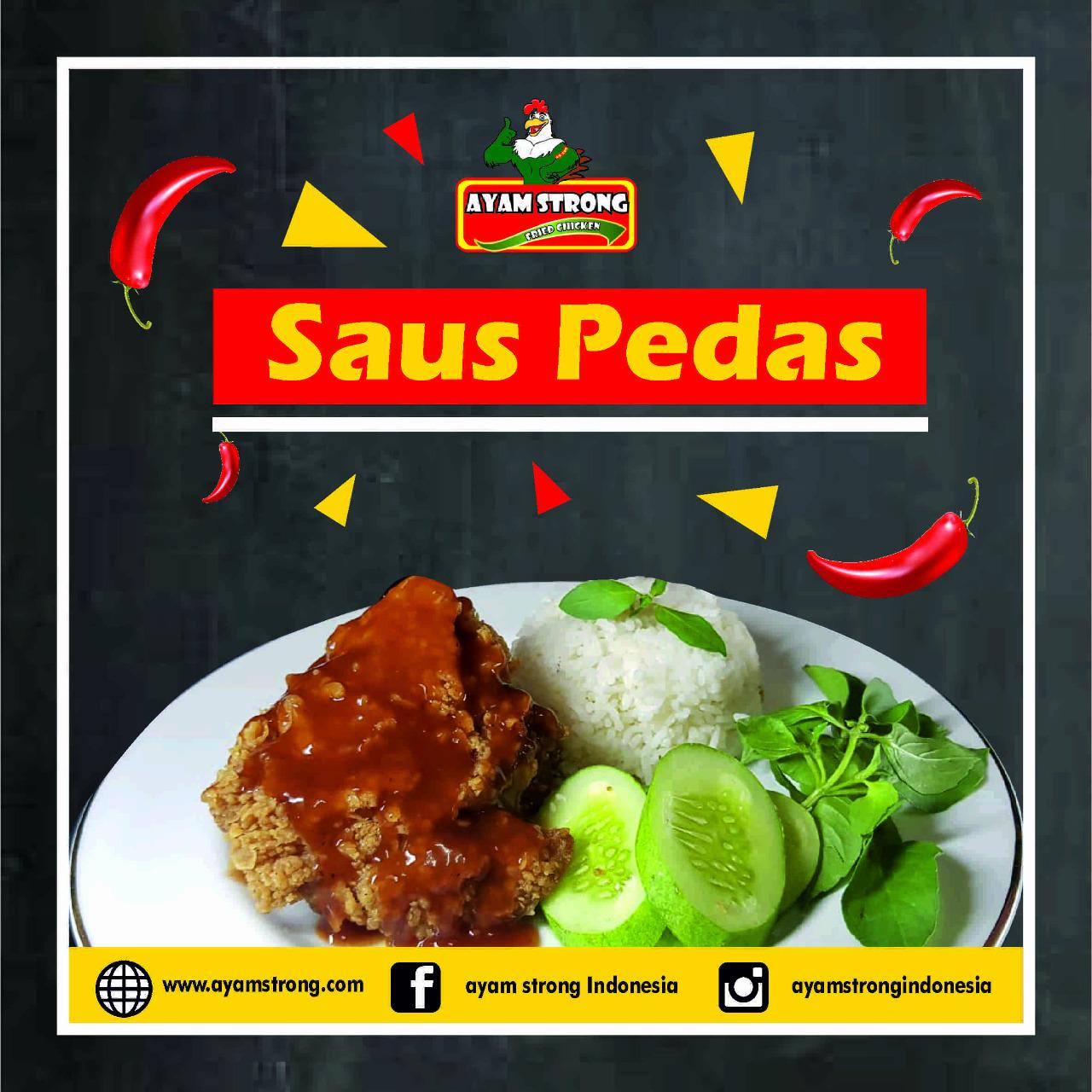 bisnis ayam strong saus pedas